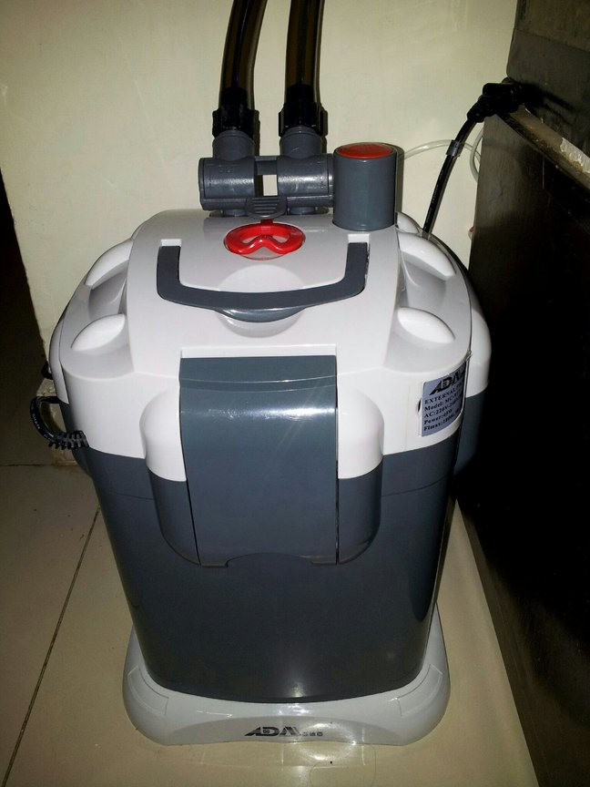 fish tank picture - Replaced Boyu 280A with ADA MC-917 capacity 1800 liters/hour external canister filter